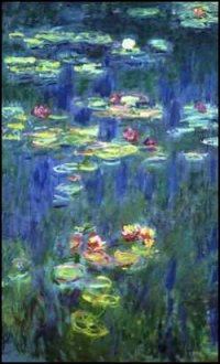 monet with water lily