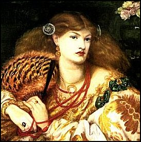 Painting of a Woman with nice nails